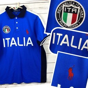 POLO Ralph Lauren Custom Fit Large ITALY pony